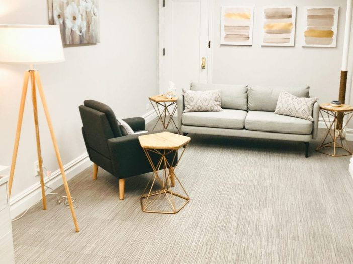 Office at Cohesive Therapy NYC